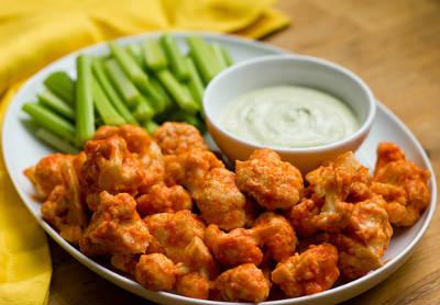 cauliflower bites - Creamy Cauliflower Bites