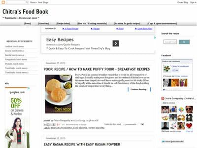 Chitra - Chitras Food Book
