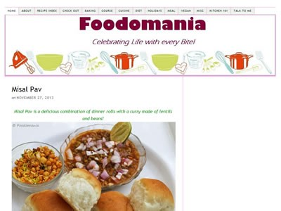 kavitha - Top 30 Indian Food Bloggers