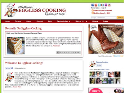 Madhuram - Eggless Cooking