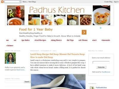 Padhu - Padhus Kitchen