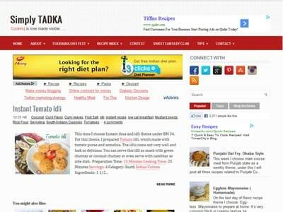 Preeti - Simply Tadka