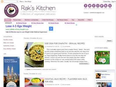 Raks Anand - Raks Kitchen