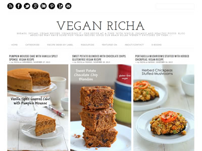 Richa Hingle - Vegan Richa