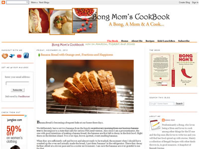 Sandeepa - Bongs Mom Cookbook