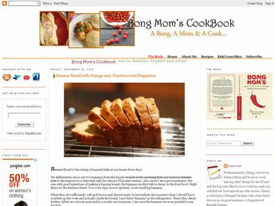 Sandeepa - Bongs Mom Cookbook