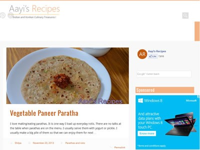 Shilpa - Aayi's Recipes