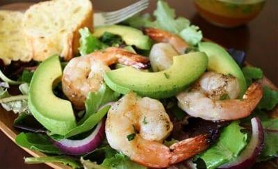 shrimp avocado salad - Shrimp and Avocado Salad