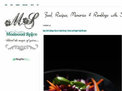 Sia - Monsoon Spice