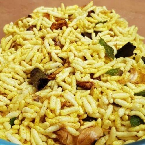 Masala Pori - Kara Pori - Spicy Puffed Rice
