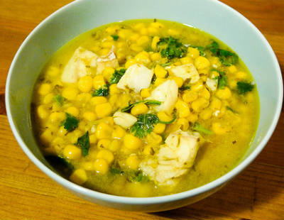 Thai Fish and Corn Curry