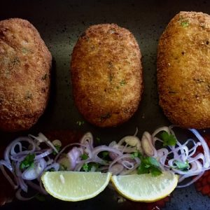 Egg and Potato Cutlet