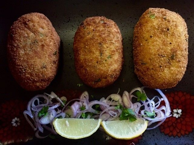 Egg & Potato Cutlet