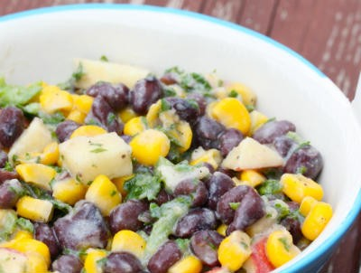 apple bean salad - Apple and Bean Salad