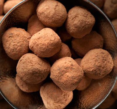 bitter chocolate truffles - Bitter Chocolate Truffles