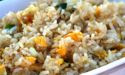 Egg and Onion Fried Rice