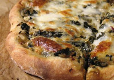 Garlic and Onion Pizza