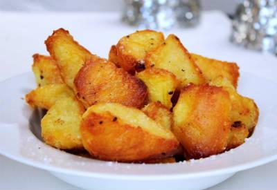 Golden Crunchy Potatoes