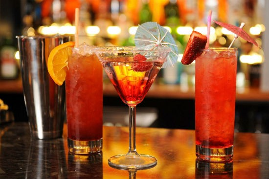 New Year Mocktails