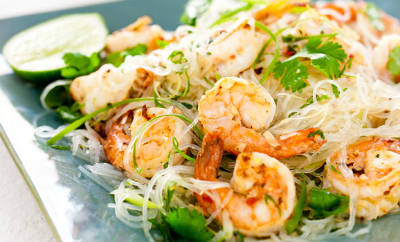 prawn noodle salad - Prawn and Noodle Salad