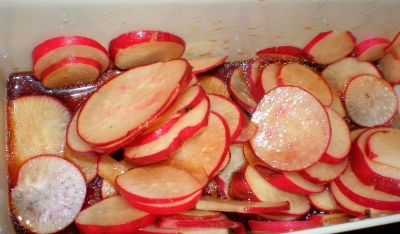 red radish pickle - Red Radish Pickle