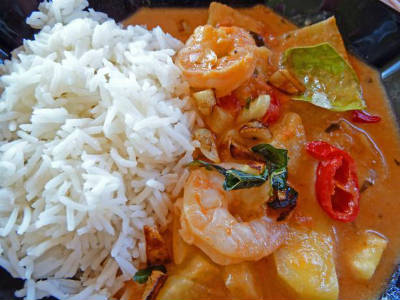 thai prawn pineapple curry - Thai Prawn and Pineapple Curry
