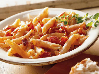 tomato cheese penne - Tomato and Cheese Penne