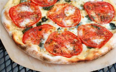 tomato pizza - Tomato Pizza