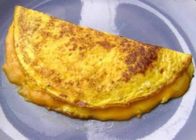 cheese omelette - சீஸ் ஆம்லெட்