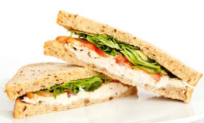 chicken sandwich - BBQ Chicken and Cheddar Sandwich