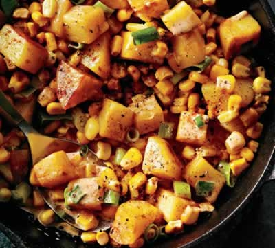 Creamed Corn and Potatoes