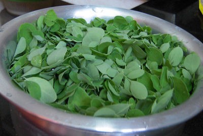 drumstick leaves - Murungai Keerai (Drumstick Leaves) Rasam