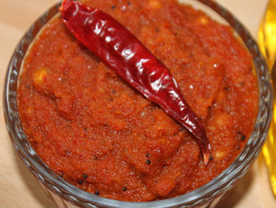 hot chilli chutney - Hot Chilli Chutney