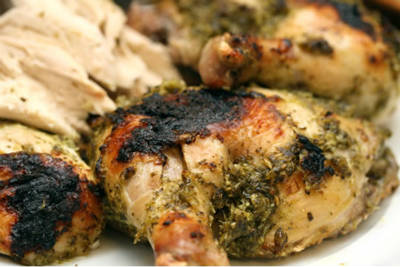 Lime Roasted Chicken