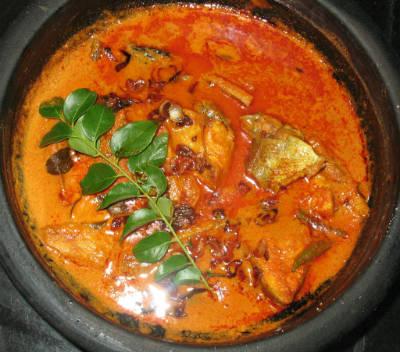 malabar meen kuzhambu - மலபார் மீன் குழம்பு