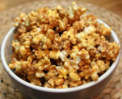 Peanut Butter and Honey Popcorn