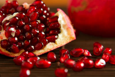 pomegranate seeds - Pomegranate Rasam