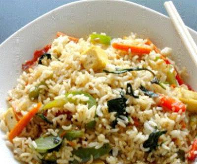 thai rice pulao - Thai Rice Pulao