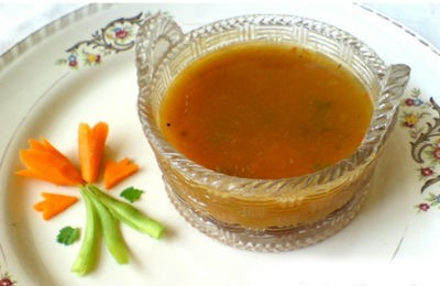 vegetable rasam - Vegetable Rasam