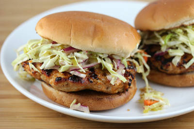 bbq chicken burger - BBQ Chicken Burger