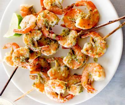 Chili Shrimp Skewers