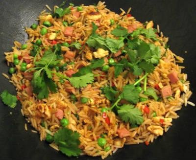 Chilli Egg Rice
