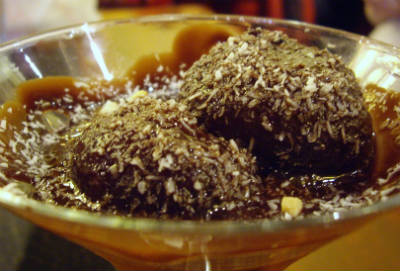 chocolate gulab jamun - Chocolate Gulab Jamun