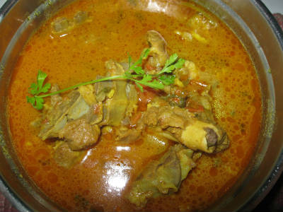 Lamb Rib Bones Soup