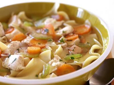 Lemongrass Chicken Soup