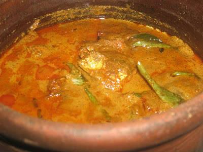 mackerel fish currry - அயிலை மீன் கறி