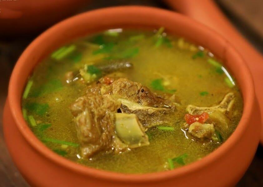 Mutton Rib Bone Soup / மட்டன் நெஞ்செலும்பு சூப்