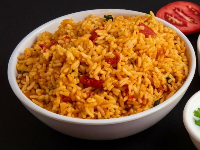 tomato rice - தக்காளி சாதம்