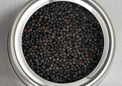 black mustard seeds - Mustard Kootu