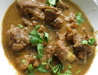Chettinad Mutton Kuzhambu